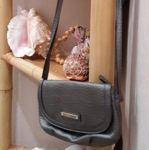 Gray Rosetti of New York Mini Crossbody Handbag